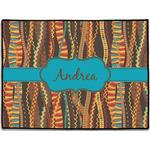Tribal Ribbons Door Mat (Personalized)
