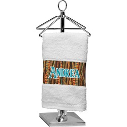 Tribal Ribbons Finger Tip Towel (Personalized)