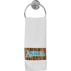 Tribal Ribbons Hand Towel (Personalized)