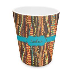 Tribal Ribbons Plastic Tumbler 6oz (Personalized)