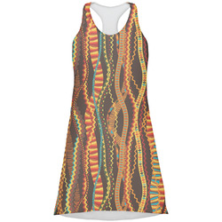 Tribal Ribbons Racerback Dress (Personalized)