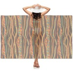 Tribal Ribbons Sheer Sarong (Personalized)