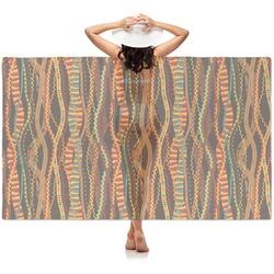 Tribal Ribbons Sheer Sarong (Personalized)