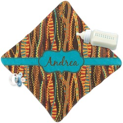 Tribal Ribbons Security Blanket (Personalized)