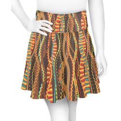 Tribal Ribbons Skater Skirt (Personalized)