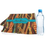 Tribal Ribbons Sports & Fitness Towel (Personalized)
