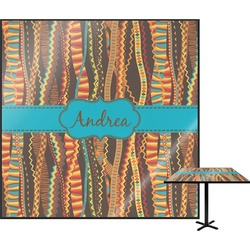 Tribal Ribbons Square Table Top (Personalized)