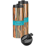 Tribal Ribbons Stainless Steel Skinny Tumbler (Personalized)