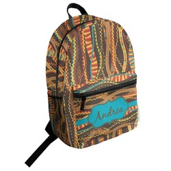 Tribal Ribbons Student Backpack (Personalized)