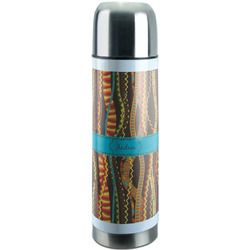 Tribal Ribbons Stainless Steel Thermos (Personalized)