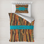 Tribal Ribbons Toddler Bedding w/ Name or Text