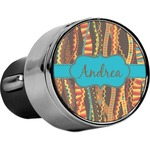 Tribal Ribbons USB Car Charger (Personalized)