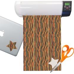 Tribal Ribbons Sticker Vinyl Sheet (Permanent)