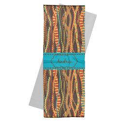 Tribal Ribbons Yoga Mat Towel (Personalized)