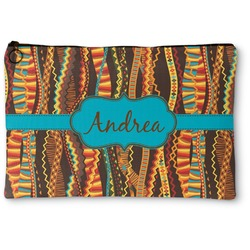 Tribal Ribbons Zipper Pouch (Personalized)