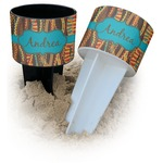 Tribal Ribbons Beach Spiker Drink Holder (Personalized)