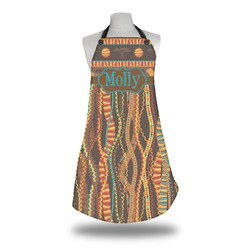 African Lions & Elephants Apron (Personalized)