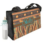 African Lions & Elephants Diaper Bag w/ Name or Text