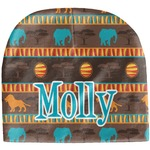 African Lions & Elephants Baby Hat (Beanie) (Personalized)