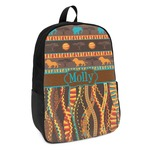 African Lions & Elephants Kids Backpack (Personalized)