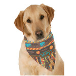 African Lions & Elephants Dog Bandana Scarf w/ Name or Text