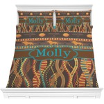 African Lions & Elephants Comforters (Personalized)