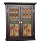 African Lions & Elephants Cabinet Decal - Custom Size (Personalized)