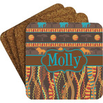 African Lions & Elephants Coaster Set (Personalized)