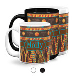 African Lions & Elephants Coffee Mugs (Personalized)