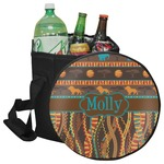 African Lions & Elephants Collapsible Cooler & Seat (Personalized)