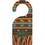 African Lions & Elephants Door Hanger (Personalized)