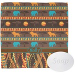 African Lions & Elephants Wash Cloth (Personalized)