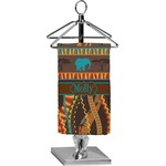 African Lions & Elephants Finger Tip Towel - Full Print (Personalized)