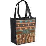 African Lions & Elephants Grocery Bag (Personalized)