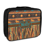 African Lions & Elephants Insulated Lunch Bag (Personalized)