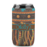 African Lions & Elephants Can Sleeve (12 oz) (Personalized)