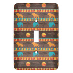 African Lions & Elephants Light Switch Covers - Multiple Toggle Options Available (Personalized)