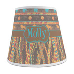 African Lions & Elephants Empire Lamp Shade (Personalized)