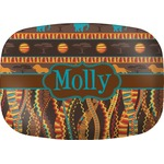 African Lions & Elephants Melamine Platter (Personalized)