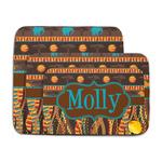 African Lions & Elephants Memory Foam Bath Mat (Personalized)