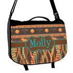 African Lions & Elephants Messenger Bag (Personalized)