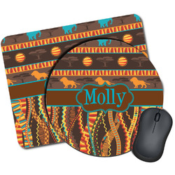 African Lions & Elephants Mouse Pads (Personalized)