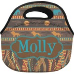 African Lions & Elephants Lunch Bag (Personalized)