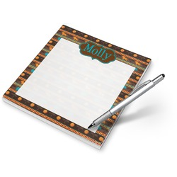 African Lions & Elephants Notepad (Personalized)