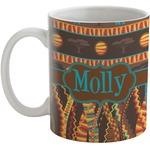African Lions & Elephants Coffee Mug (Personalized)