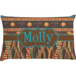 African Lions & Elephants Pillow Case (Personalized)