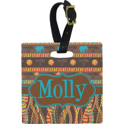 African Lions & Elephants Luggage Tags (Personalized)