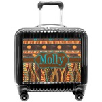 African Lions & Elephants Pilot / Flight Suitcase (Personalized)