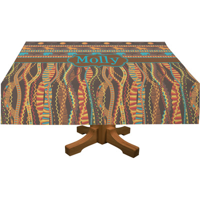African Lions & Elephants Tablecloth (Personalized)