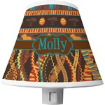 African Lions & Elephants Shade Night Light (Personalized)